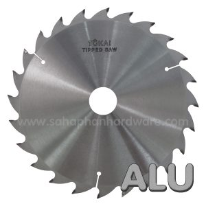 Aluminum tipped saw